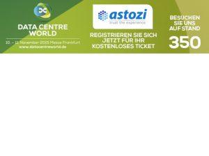 astozi Srebrnym Sponsorem Targów Data Centre World 2015 we Frankfurcie